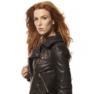 Unforgettable Carrie Wells Leather Jacket