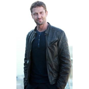 Mike Banning Leather Jacket